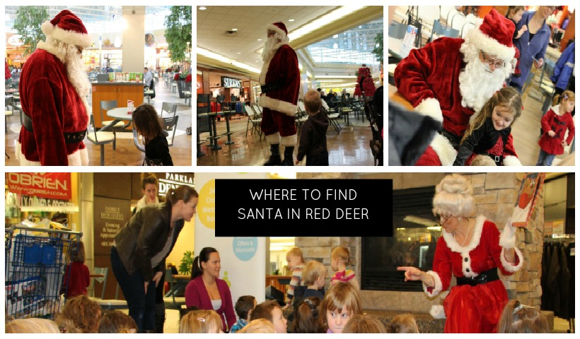Where to Find Santa in Red Deer