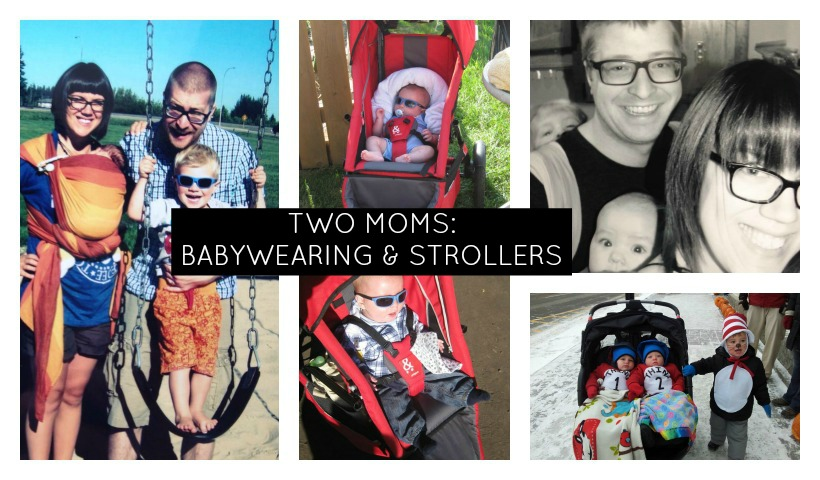 Two Moms: Baby Essentials Babywearing & Strollers