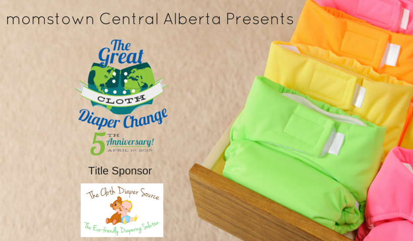 The Great Cloth Diaper Change 2015 – Red Deer