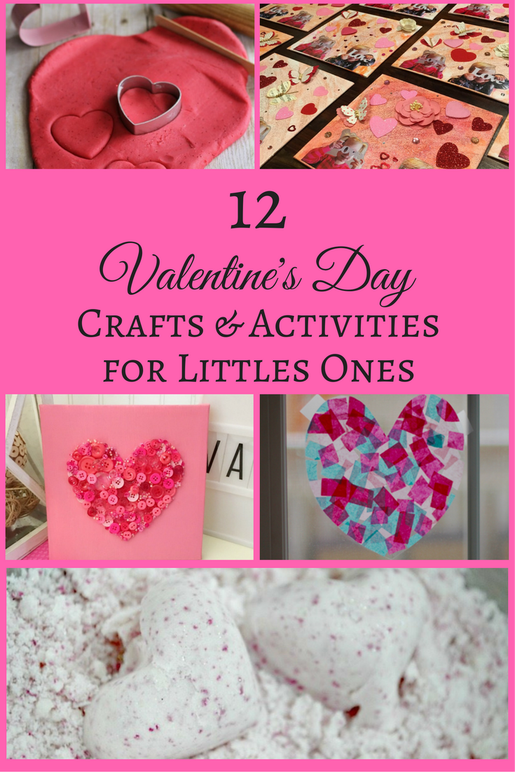 12 Valentine's Day Crafts & Activities for Littles Ones
